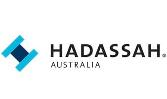 לוגו הדסה אוסטרליה
