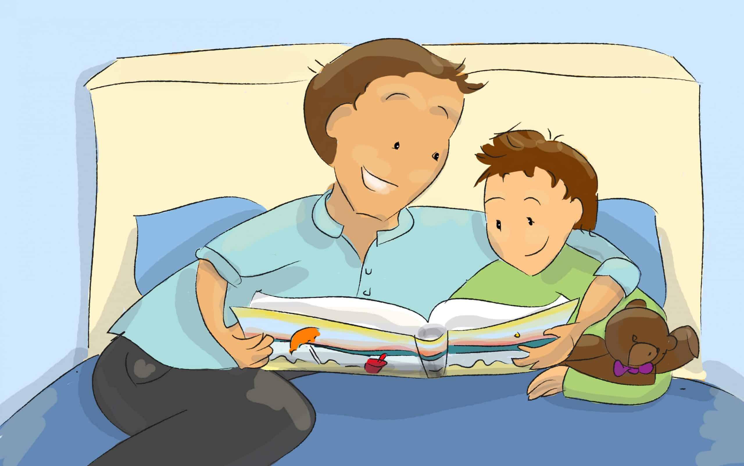 שימוש בדמיון מודרך דרך קריאת ספרים