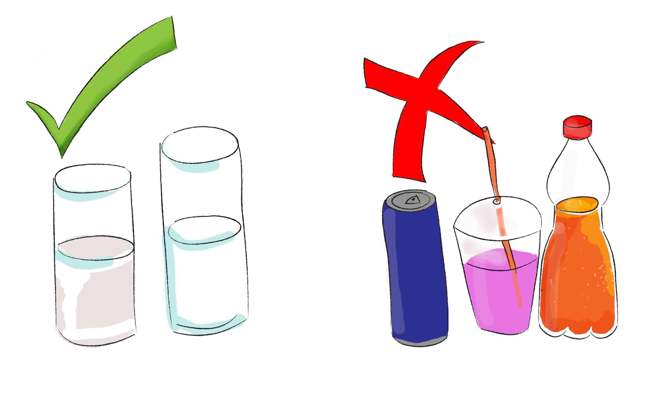 אילו משקאות מתאימים לשימוש בתפריט בריא ומאוזן