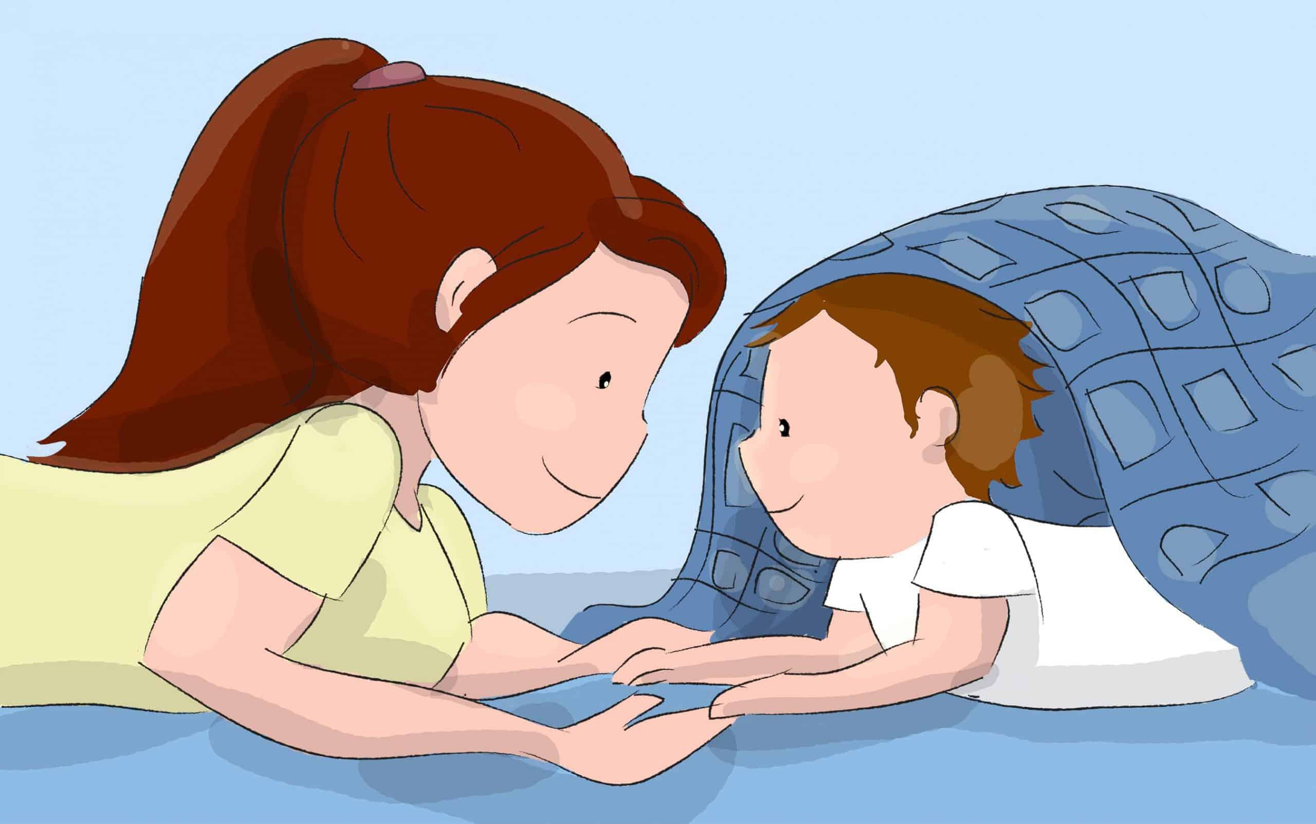דברו אל התינוק או שירו לו