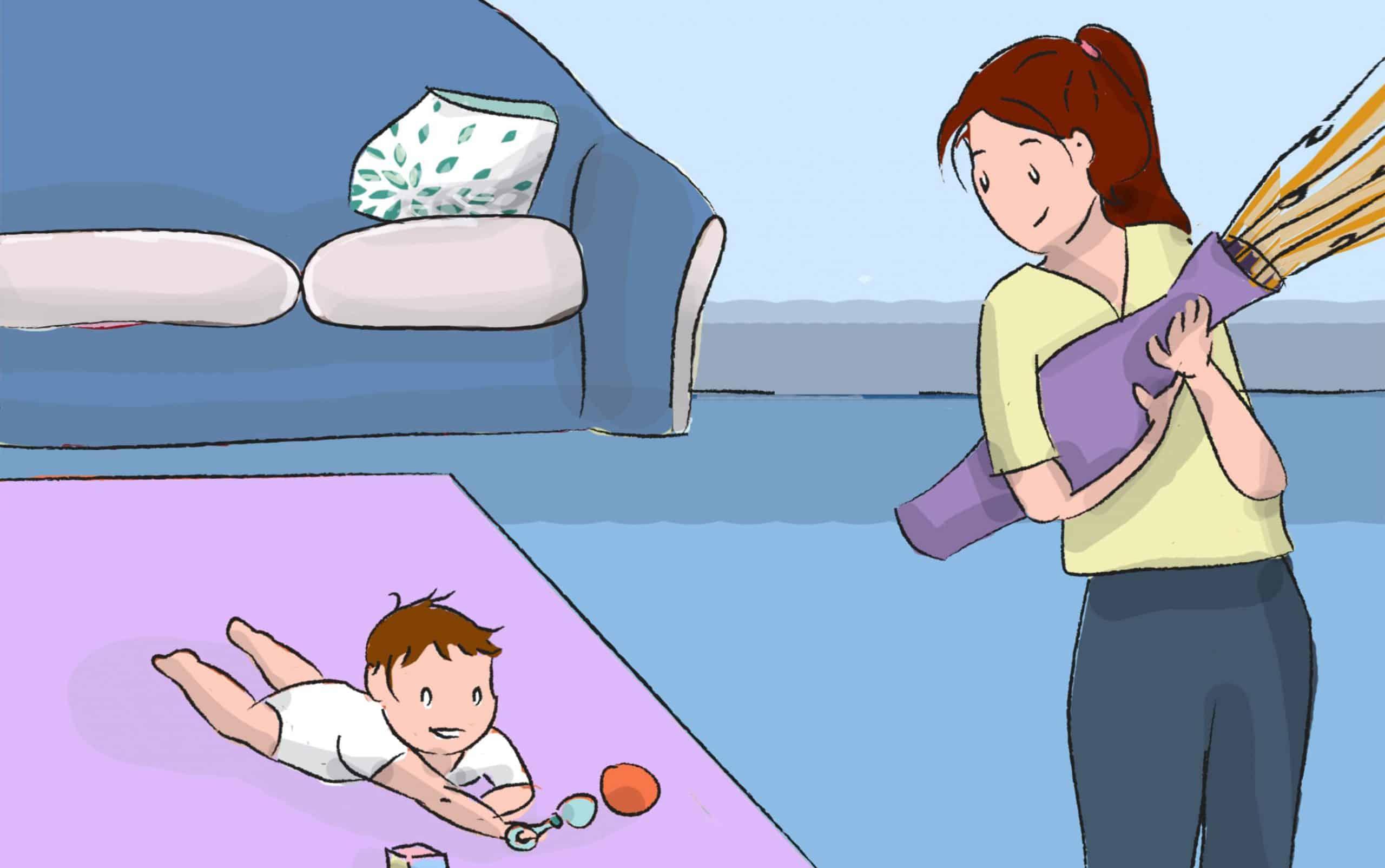 השגיחו על ילדכם בזמן השכיבה על הבטן